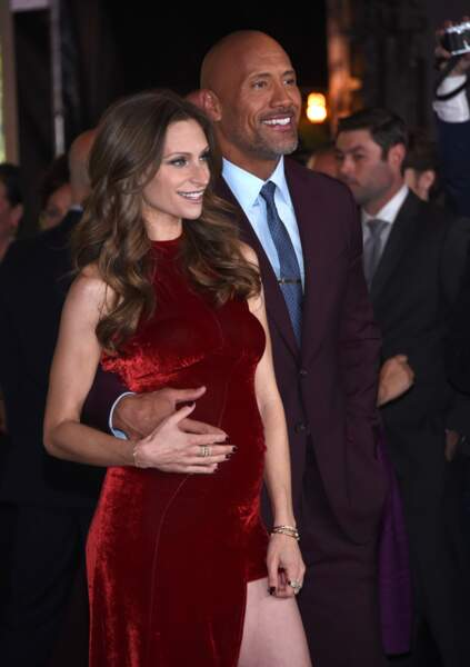 Dwayne Johnson et sa femme Lauren Hashian, heureux parents de Tiana Gia, née le 23 avril 2018