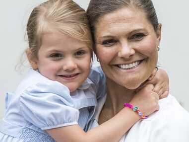 Princesse Estelle, adorable  petite maman pour Oscar