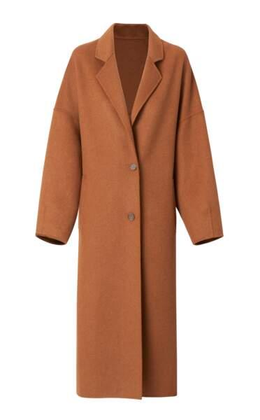 Le manteau Tempo de Mango en laine vierge ne coûte que... 159,99€ pour un maxi effet !