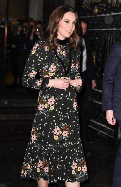 Kate Middleton à Londres le 28 février