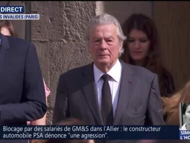 Obsèques nationales de Simone Veil : Alain Delon, Claude Lelouch, François Hollande