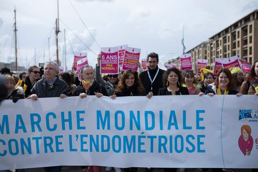 5ème édition de l'Endomarch, marche contre l'endométriose avec Laetitia Milot