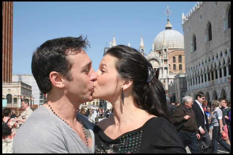 Daniel Ducruet et Kelly Lancien avait organisé une séance photo pour immortaliser ce séjour à Venise