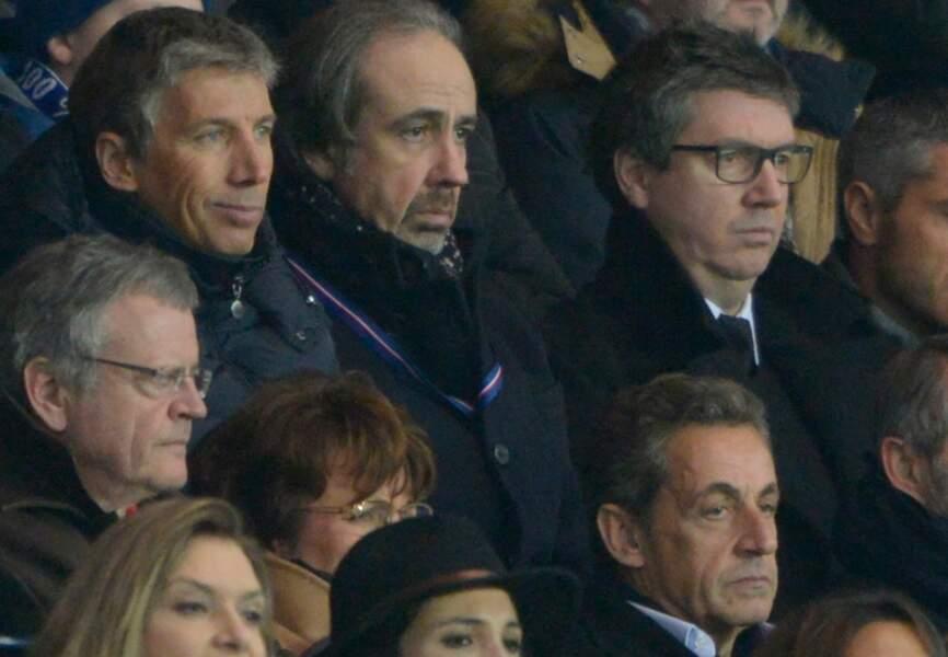 Stéphane Courbit et Nicolas Sarkozy