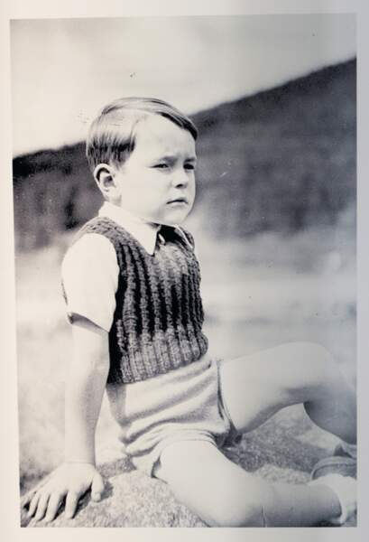 Jacques Chirac enfant