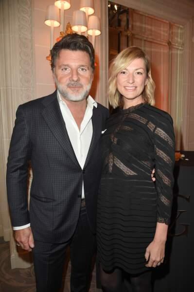 Philippe Lellouche et Vanessa Boisjean ont pris la pose durant le gala des Stéthos d'Or ce lundi 11 mars