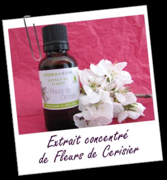 Extrait concentré de fleurs de Cerisier par Aroma Zone, 3,50 €