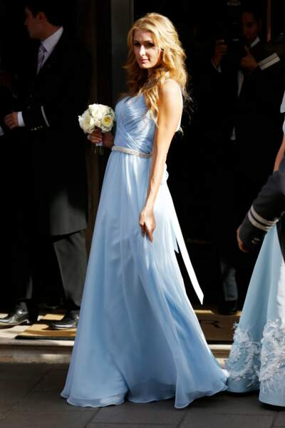 Paris Hilton au mariage de sa soeur Nicky