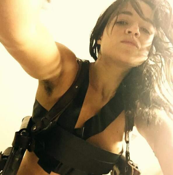 Michelle Rodriguez est une vraie brune.