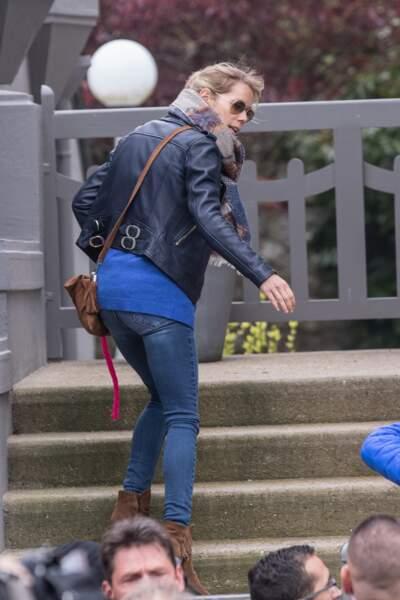 Brigitte Macron rentre dans sa maison du Touquet