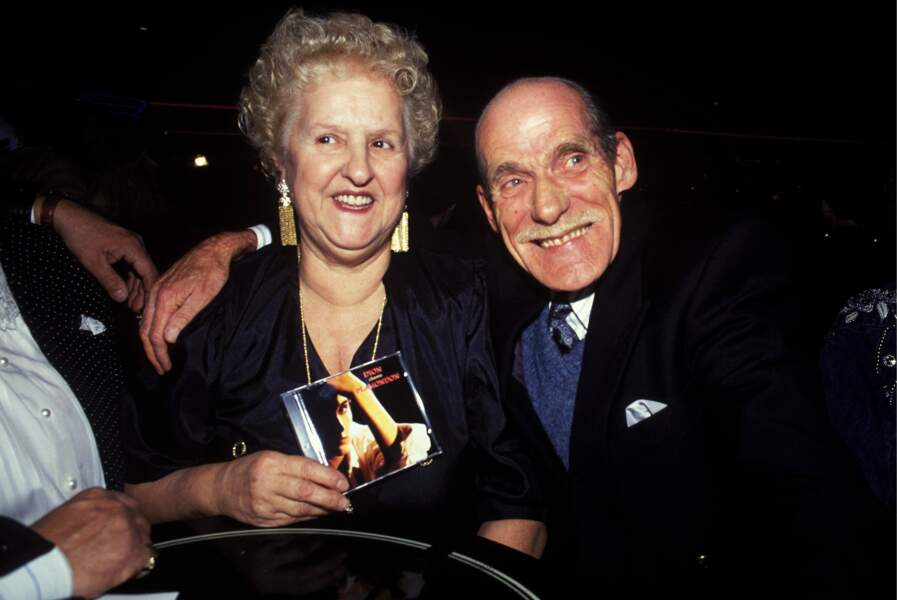Thérèse et Adhémar Dion au Canada en 1993