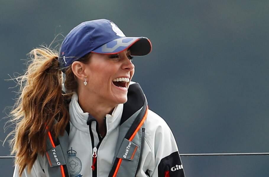 De retour de l'Île Moustique, Kate Middleton affiche un teint bronzé qui lui va à ravir