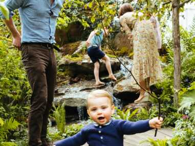 PHOTOS - Kate Middleton, prince Louis, princesse Charlotte, prince George, prince William : la photo du bonheur