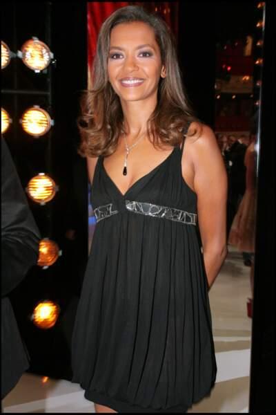 2007 : Karine Le Marchand lors de la 21ème cérémonie des Molières