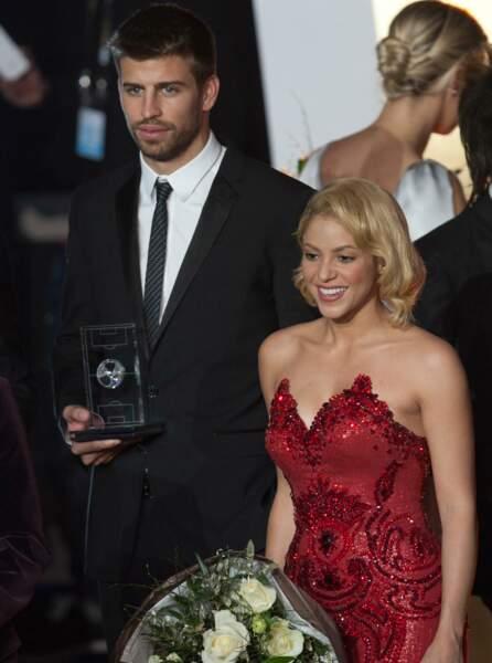 Shakira et Gérard Piqué.