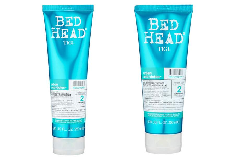 Bed Head, shampoing et soin antidote urbain, 9,50€ et 12€ sur showroomprive