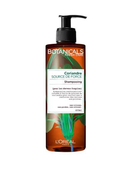Iris Mittenaere adore le Shampooing à la coriandre Botanicals de l'Oréal Paris