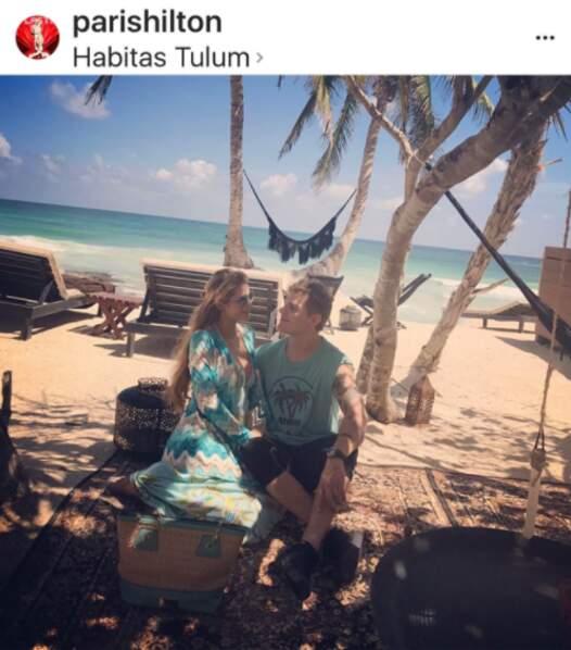 Paris Hilton et son compagnon Chris Zylka