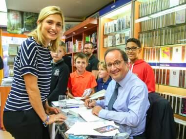 PHOTOS –Julie Gayet à la rescousse de François Hollande : son livre se vend moins que ceux de ses prédécesseurs