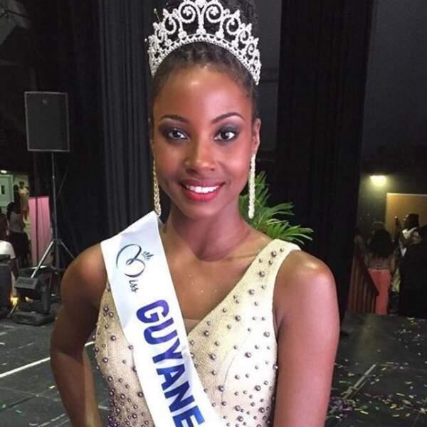 Ruth Briquet, Miss Guyane