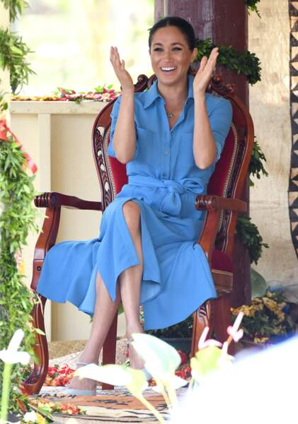 Meghan Markle ravie de son séjour