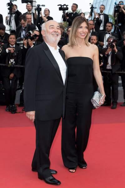 Gérard Jugnot et sa femme Patricia Campi