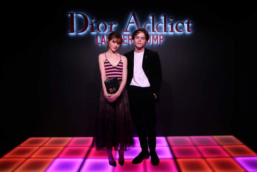 Natalia Dyer et Charlie Heaton, le couple cute de Strangers Things, très chics pour Dior