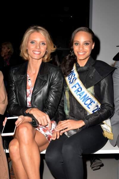 Sylvie Tellier et Alicia Aylies