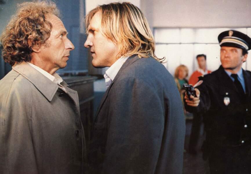 """"""" Les fugitifs,"""" avec Gérard Depardieu, 1986"""