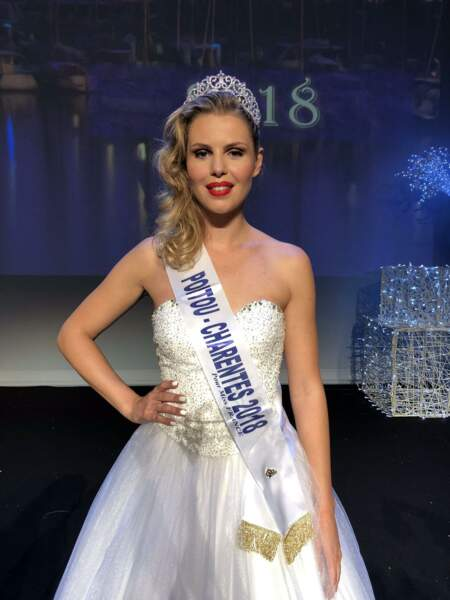 Marion Sokolik, 23 ans, a été sacrée Miss Poitou-Charentes et tentera de devenir Miss France 2019