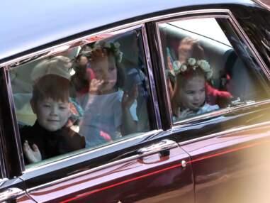 PHOTOS - Mariage de Meghan et Harry : la princesse Charlotte très craquante devant les photographes