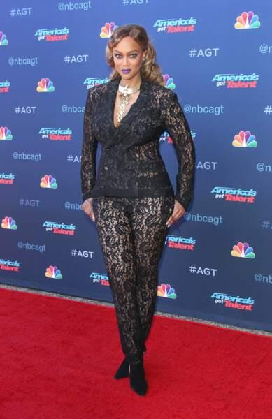 """Tyra Banks pour la douzième saison de """"America's got talent"""", Los Angeles"""
