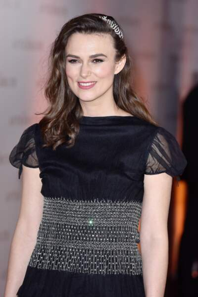 Keira Knightley et sa jolie attache