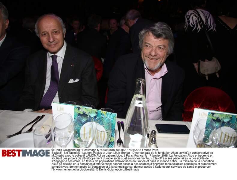 Laurent Fabius et Jean-Louis Borloo