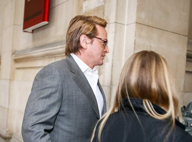 Benoit Magimel Arrives At Paris Courthouse