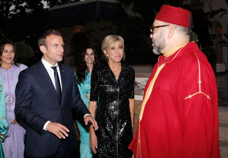 Brigitte Macron en juin 2017