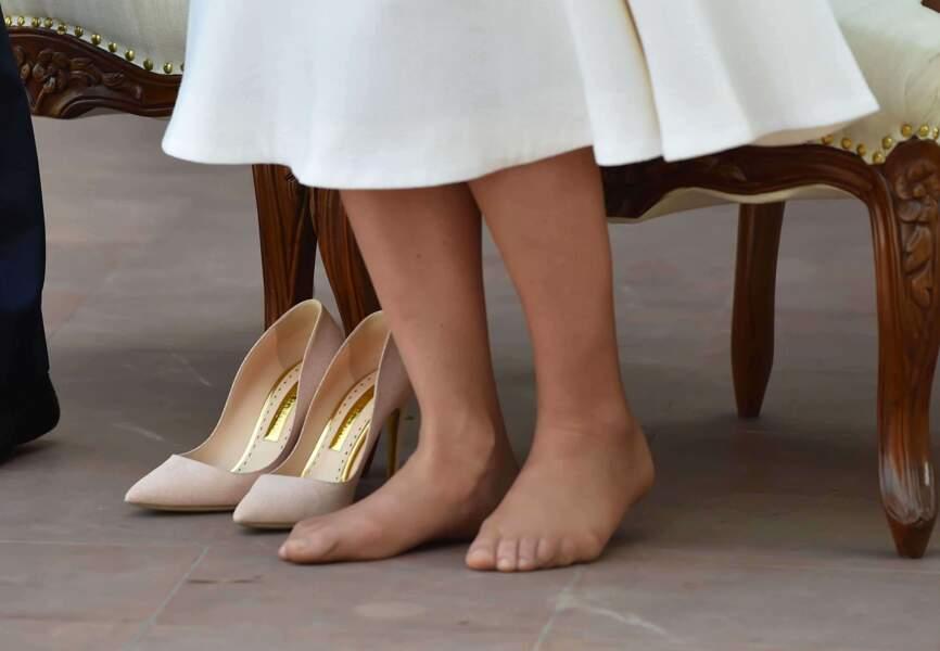La princesse aux pieds nus