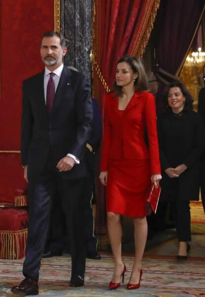 Letizia d'Espagne en Felipe Valera
