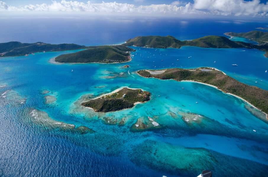 Ils se sont installés à Necker Island, une île privée