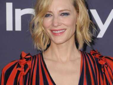 Cate Blanchett radieuse à 48 ans et toujours stylée