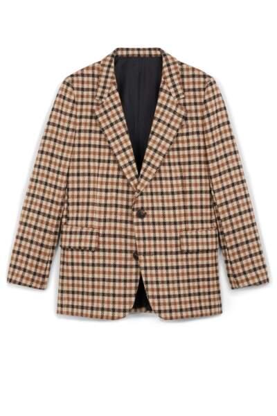 Veste classique en laine, Ami Alexandre Mattiussi, 690 €.