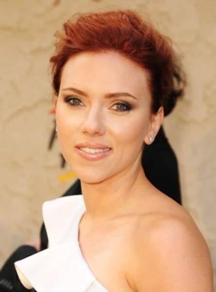 Le roux rouge de Scarlett Johansson