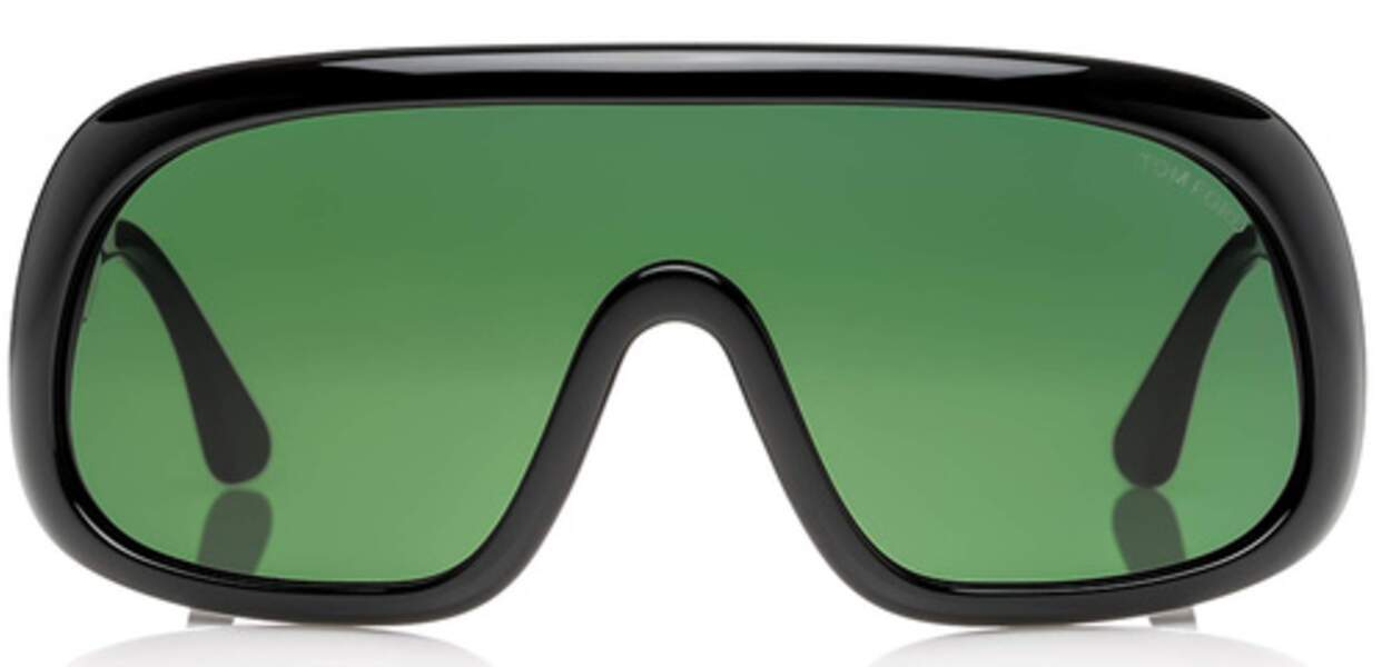 Lunettes de soleil masque Tom Ford - 350€