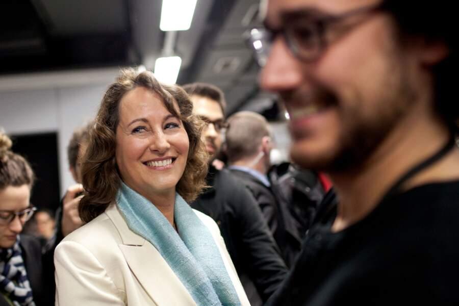 Ségolène Royal et Thomas Hollande lors des présidentielles de 2012 à laquelle se présentait François Hollande.