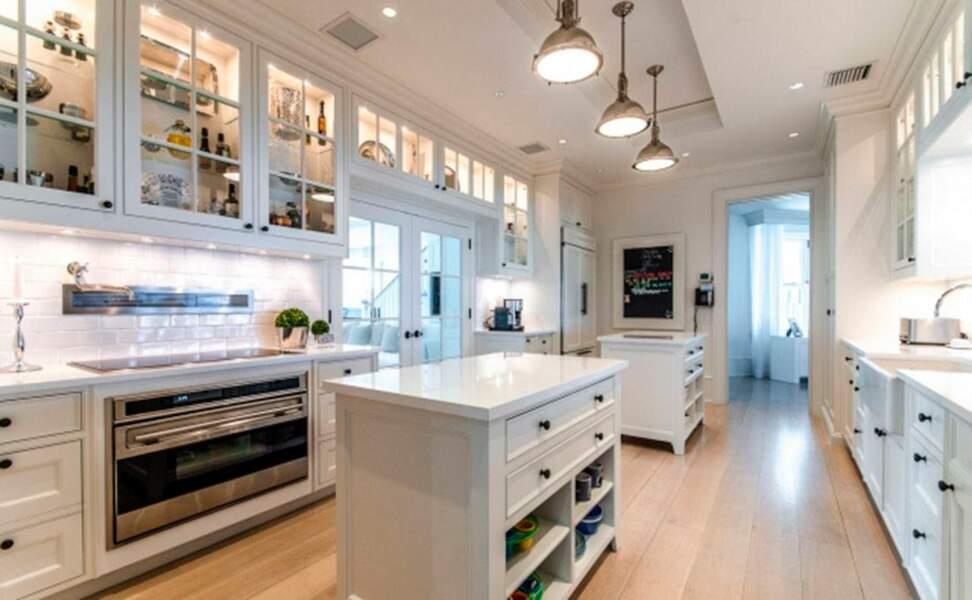 La cuisine de la propriété de Céline Dion