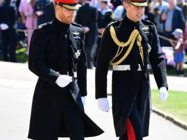 Arrivée du prince Harry et du prince William