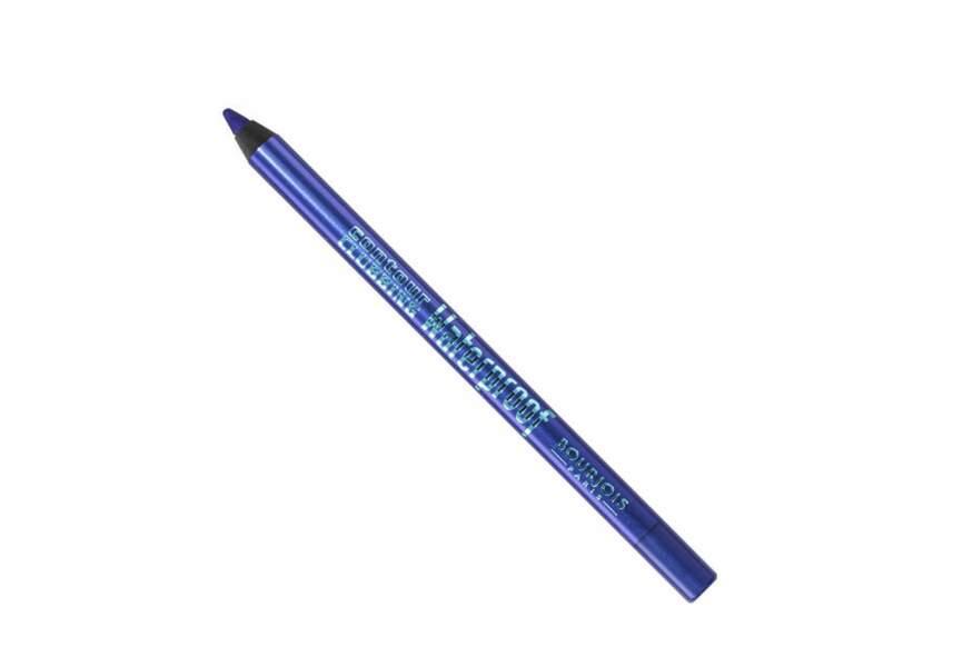 Bourjois, Contour Clubbing Waterproof, Bleu néon, 8,50€
