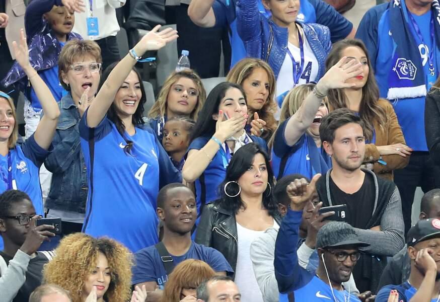 Sidonie Biémont lors du match d'ouverture de l'Euro 2016.