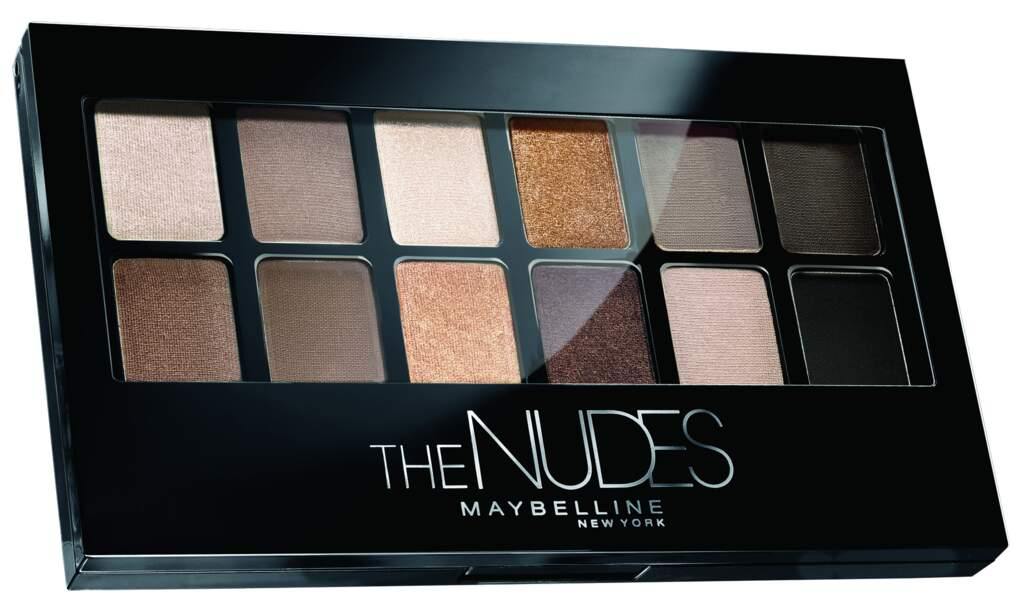 Gemey-Maybelline, Palette The Nude, 14,50€