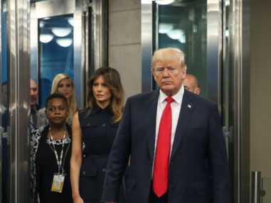 Melania Trump s'affiche digne et chic aux côtés de son mari Donald Trump